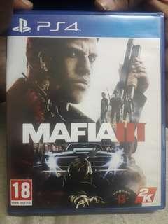 Ps4 games Mafia 3 + Fifa 16