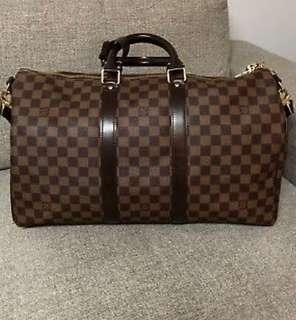 Louis Vuitton duffle travel bag