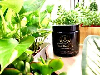 Botanicals And Bees© Scented Soy Candles - #001 Just Breathe