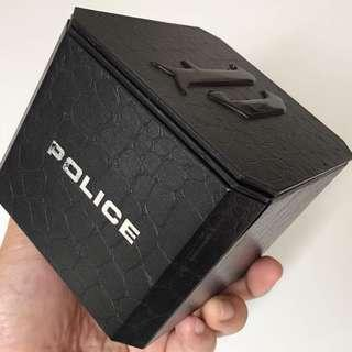 Police Leather Watch Box