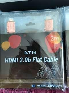High quality HDMI 2.0b 2 metres cables