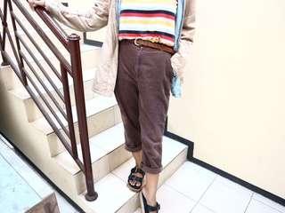 corduroy vintage brown pants