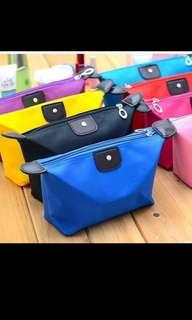 Colorful pouch bag