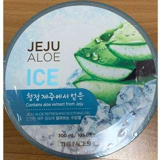 The Face Shop Ice Jeju Aloe Refreshing Soothing Gel
