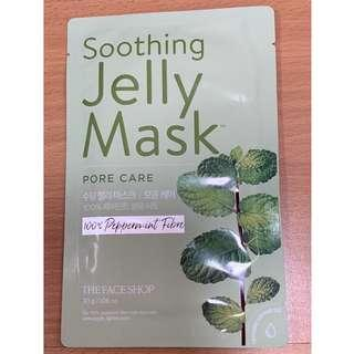 The Face Shop Soothing Jelly Mask 30g (Pore Care)
