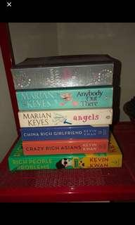 Preloved various books