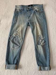 Dotti Boyfriend Jeans Size 8-10