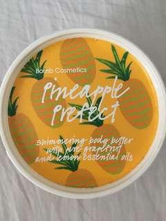 Bomb cosmetics pineapple perfect body butter