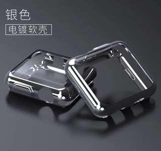 Apple Watch 3 sliver colour 42mm軟殻