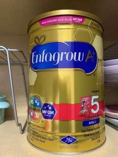 Enfagrow stage 5 milk powder 1.7kg
