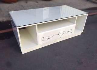 四呎玻璃桌/茶几/矮桌/客廳桌/沙發桌/和室桌/造型桌