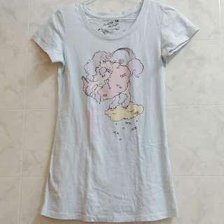 專櫃正品 lazybone 短袖上衣 T恤 獨角獸 飛馬 粉藍 天藍 軟妹 蘿莉