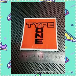 #SINGLES1111 Type one outdoor sticker