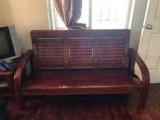 Malaysian Wood Sofa