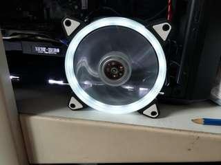 White LED Case Fan 120mm