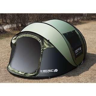 5-6 men easy assemble tent