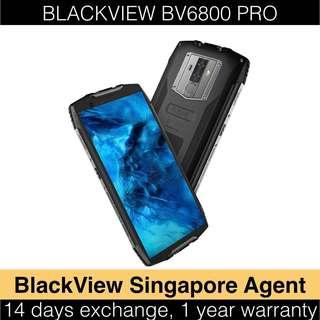 """🚚 Blackview BV6800 PRO (1 Year SG Warranty) [Rugged choice for 2019] [IP68 IP69K MIL-STD-810G Wireless Charging - 5.7"""" Screen with 18:9 Display ratio 30 days battery standby Dual 16MP Camera]"""