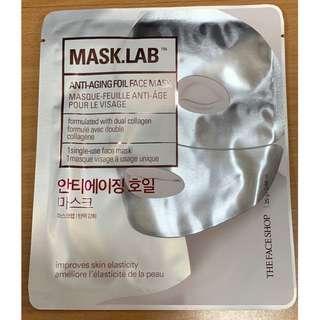 The Face Shop Mask Lab Anti-Aging Foil Face Mask