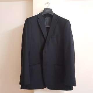 Bonia Blazer Suits Men Black