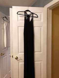 Black maxi dress (fits like S-M)