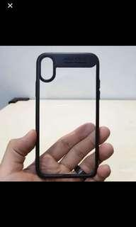 $6 INSTOCK High Quality Transparent Shell iPhone X XS