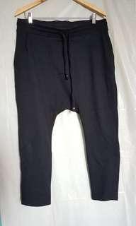Forever 21 Harem Drawstring Jogging Pants