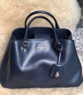 Coach Classic Handbag in Midnight Blue