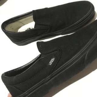 Vans Classic Slip-On (Black/Black)