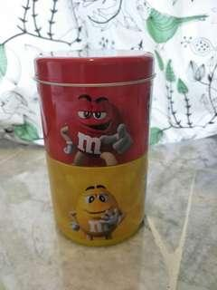 Christmas Canister for tea, candy, small collectibles