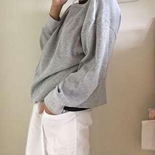 🚚 白色打褶褲裙!