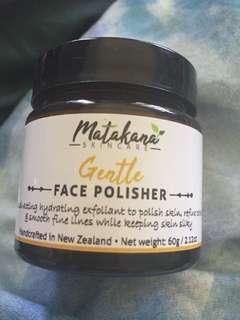 Matakana skincare gentle face polisher