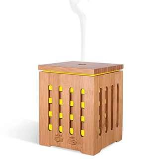 200ml Ultrasonic Real Bamboo Aroma Essential Oil Diffuser