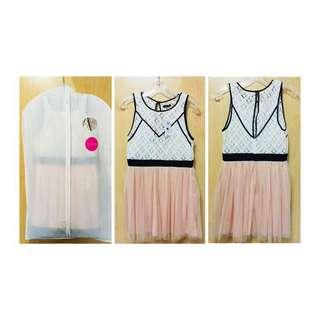 🌸Honey Pink Lace Prom dress