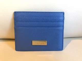 Celeste Blue Furla Cardholder