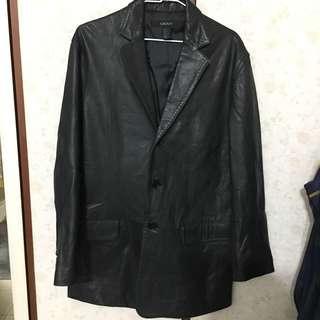 🚚 DKNY小羊皮西裝外套