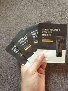Innisfree Super Volcanic Peel off Mask 2x
