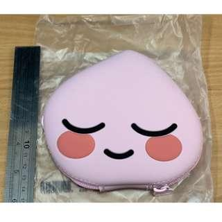 The Face Shop Kakao Friends -Sweet Apeach Silicone Pouch
