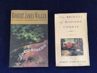 Bundle of 2 books by Robert James Waller