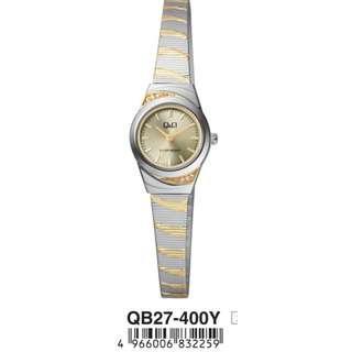 Q&Q Watch By Citizen QB27 -3 COLOUR