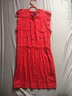 Mango Casual Cilli Red Dress