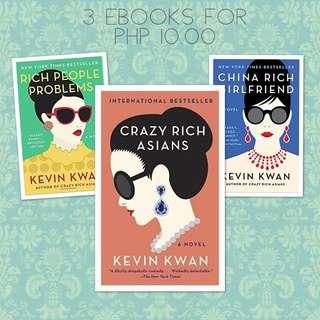 Crazy Rich Asians, Rich People Problems, China Rich Girlfriend
