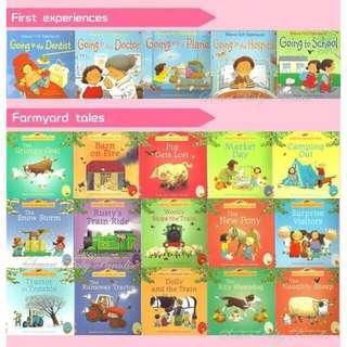 Usborne 20 Story Books