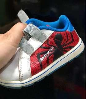 Toddler Reebok Spiderman Shoes