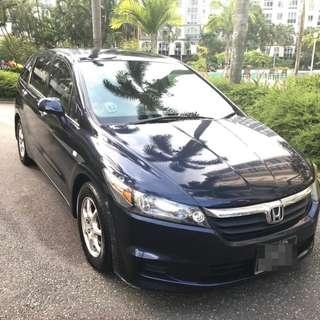 Honda Stream 1.8L - Reliable, Sporty, Spacious, Extra Earnings with Grab 6 Seater Jobs!