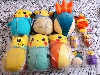 [AUTHENTIC] Pokemon Pikachu Plush #SINGLES1111