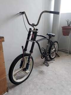 Project lowrider bike