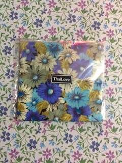 Bangkok Floral Print Handkerchief