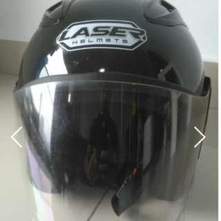 Laser Helmets 46 Project ( Black ) #SINGLES1111