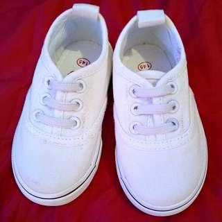 Baby White Rubber shoes