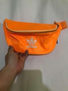 Adidas waist bag - tas pinggang adidas yellow 100% original